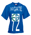 East-GATE-72-OVERCOMER-72 - Custom Heat Pressed Youth Overtime Football Jersey - 1362 DB503496B24B
