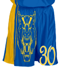Boys-and-Girls-Home-and-Away- DISCONTINUED Adult Dazzle Basketball Shorts - 11