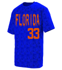 Florida - Custom Heat Pressed Adult Customized Elevate Wicking T-Shirt  - 1795 26B1EB979232