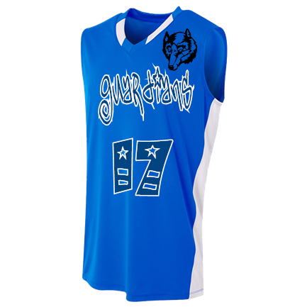 A4 Youth BACKCOURT Basketball Jersey
