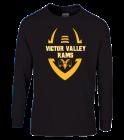 black-shirt- Gildan Youth Longsleeve T-shirt