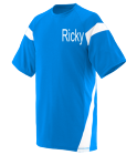 Randy DISCONTINUED Adult Two Color Block Crew Neck Jersey  - 1610