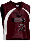 BALLN - Custom Heat Pressed Adult Tip Off Basketball Jersey - Teamwork Atheletic - 1430 1E7284EFDE30