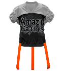 Amazin-Cajuns DISCONTINUED Adult Official Flag Football Jersey - 1358