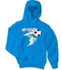SKY-KICKERS SaveTheAnimalsSaveTheAnimals Youth Pullover Hooded Sweatshirt