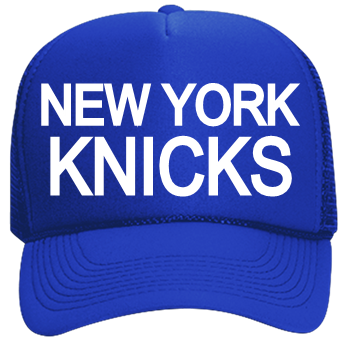 eb417b8134064 NEW YORK-KNICKS - Custom Heat Pressed Neon Trucker Hat