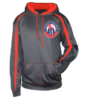 Veterans Unleashed  - Custom Heat Pressed Adult Two Color Fusion Hoodie - 1467-badger 8E8D549DF455