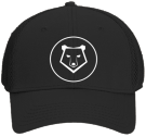 "Bulk Bear Hat - Custom Heat Pressed ""Otto A-Flex"" Cotton Twill w/Stretchable Polyester Air Mesh Back Low Profile Pro Style Caps (LXL)) 7699EF5C2A7A"