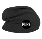 PURE BEANIE - Custom Embroidered Hipster Slouch  Beanie   - 146_1069 6BFFF0380789