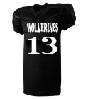WOLVERINES - Custom Heat Pressed Youth Football Jersey  - 9561 FC364BADCF27
