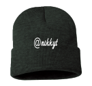 @nikkyt - Custom Heat Pressed Adult  Beanie - Sp12 55B32E2112B4
