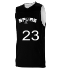 joshua San Antonio Spurs Youth Reversible Basketball Jerseys - A105LY-SPURS