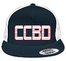 CCBD - Custom Embroidered Two Color Classic  Trucker Hat  - 6006T BFF2BDB9E0C0