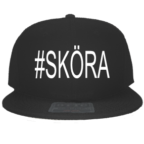 3bf4fa206e372  SKÖRA-LAXSJÖ - Custom Embroidered Snapback Flat Bill Hat - 125-978  53F9B050B262