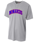 MONARCHS - Custom Heat Pressed Youth Baseball Jersey - NB4130 91DE402970B2