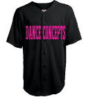 DANCE CONCEPTS -PLAYER NAME -00 - Custom Heat Pressed Youth Speedster Baseball Jersey - 1765B 9735372B3FFD