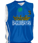 BAGUMBAYAN Youth 2-Color Reversible Basketball Jersey