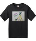 Extravaganza 18-19 Shirt Black - Custom Screen Printed Fruit of the Loom Youth Heavy Cotton Tee 3930B CCE809C8947E