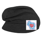 WIsco - Custom Heat Pressed Hipster Slouch  Beanie   - 146_1069 EE3A7A305D3B