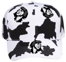 James-Cow-Brown James Cow Brown Pro Style Pre Printed Otto Cap