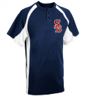 12-12 - Custom Heat Pressed Adult Line Drive 2-Button Baseball Jersey - 1230P BBA9F06AABFB