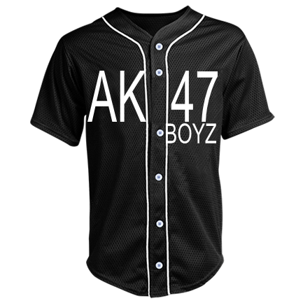 SUCIOS MOB-SUCIOS MOB-BOYZ-King Lil G-Sucios Mob-SUCIOS - Custom Heat  Pressed Adult Full Button Baseball Jersey - N4184