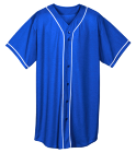 HIGH-VOLTAGE-HIGH-VOLTAGE - Custom Heat Pressed Youth Full Button Wicking Mesh Jersey  - 594 33B748B2D758