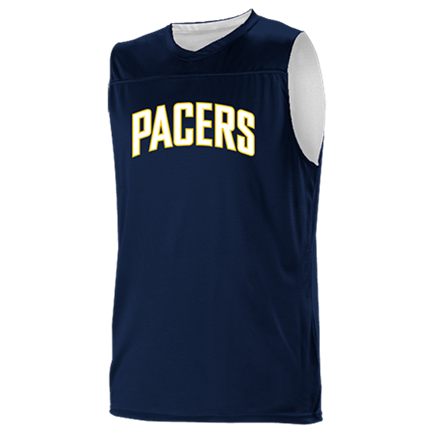 new arrival 37c97 32438 LEGGY-5 - Custom Heat Pressed Indiana Pacers Youth Reversible Basketball  Jerseys - A105LY-PACERS Youth Small