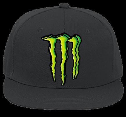 18da402124c Monster energy caps - Custom Heat Pressed Flat Bill Fitted Hats 123-969  132AAA232720