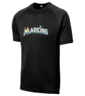 23 - Custom Heat Pressed Marlins Adult MLB Replica T-Shirt - 5300 CFBEE74E5D95