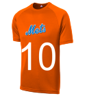 10-10 - Custom Heat Pressed Mets Adult MLB Replica T-Shirt - 5300 CA3848907181