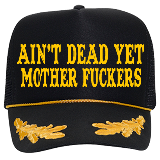 21f3fa9e36f83 Ain t dead yet mother fuckers-Mother fuckers - Custom Embroidered Otto Trucker  Hat 39-162 78AAA3051CA1