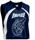 EAGLES-1 - Custom Heat Pressed Youth Tip Off Basketball Jersey - Teamwork Atheletic - 1400 158ED8C5B2FC