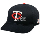 I Woke Up To Greatness  - Custom Heat Pressed Minnesota Twins - Official MLB Hat for Little Kids Leagues 8B3326947116
