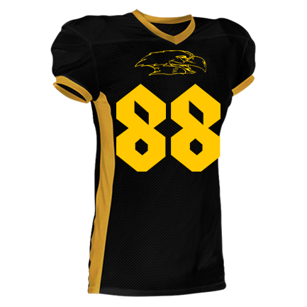 aab036788 88-88 - Youth Two Color Football Jersey - 750EY - Custom Heat Pressed -  CustomPlanet.com