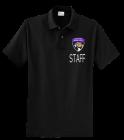 QVMS-MENS-BLACK-POLO DISCONTINUED Company Shirts, Uniforms, Polos with logo - KP60