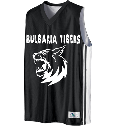 3945259c7 Bulgaria Tigers - Custom Heat Pressed Youth Basketball Jerseys   Uniforms  Reversible - 756 Youth Small 593CA5318FD9A