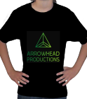 Arrowhead Productions shirt - Custom Heat Pressed Custom Little Kids League Team T-shirts - Jerzees T-Shirt 363B 7C365E0839CD