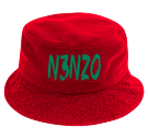 N3nzo - Custom Heat Pressed Short Brim Custom Bucket Hats - 961 64B85E6842EB