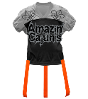 The-Amazin-Cajuns DISCONTINUED Adult Official Flag Football Jersey - 1358