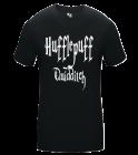 Keeper2HufflepuffQuidditch Adult Compression Crew Tshirt