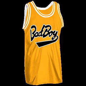 Biggie Smalls s Bad Boy Jersey  72 - Custom Heat Pressed Old School Basketball  Jersey - 1426 E51864332756 ddaf0240e