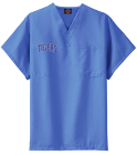 tigers - Custom Heat Pressed Dickies Medical Scrubs - 83706 057F66744A87
