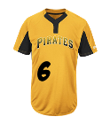 6Harper6 Youth Pirates Two-Button Jersey - Pirates-MAIY83