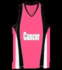 CancerSideline-CancerCancerCancer Ladies Wicking Mesh Basketball Jersey