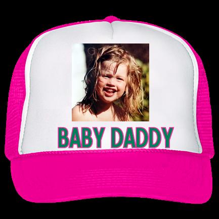e7975ea0 baby daddy - Trucker Hat 39-169 - Custom Heat Pressed - CustomPlanet.com