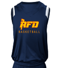 RFD - Custom Heat Pressed Adult V-Neck Custom Basketball Jerseys - N2340 5B343B2D8F39