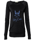 Holly-R-Couch Galway Girl Ladies Off The Shoulder Alternative Sweatshirt