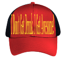 I Don't Get Drunk, I Get Awesome! - Custom Heat Pressed Low Pro Trucker Style Otto Cap 83-513 B244D8EA2C8B