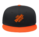 thd - Custom Embroidered Snap Back Flat Bill Hat - 125-1038 0C418F9EB3AE
